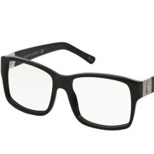 NWT Polo PH 2046 5001 Shiny Black Eyeglasses